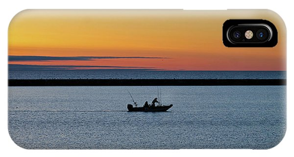 Going Fishing 2 Phone Case by Eric Curtin