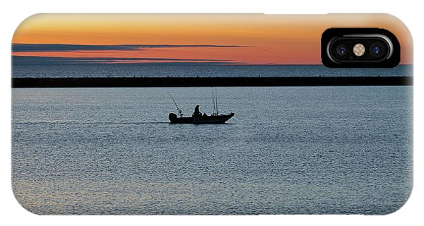 Going Fishing Phone Case by Eric Curtin