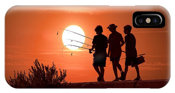 Fishing iPhone Case - Going Fishing by Randall Nyhof