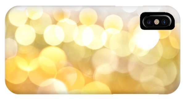 Gold On The Ceiling IPhone Case