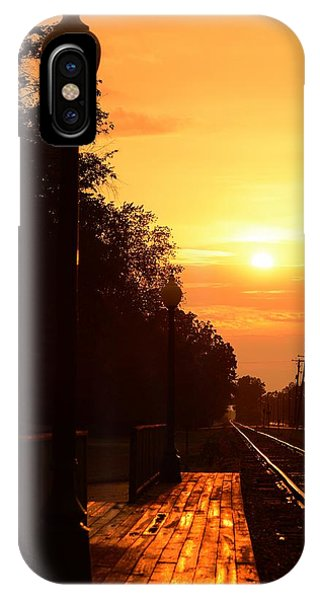Golden Age Of Rails IPhone Case