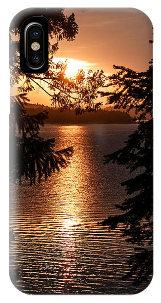 Golden Almanor IPhone Case