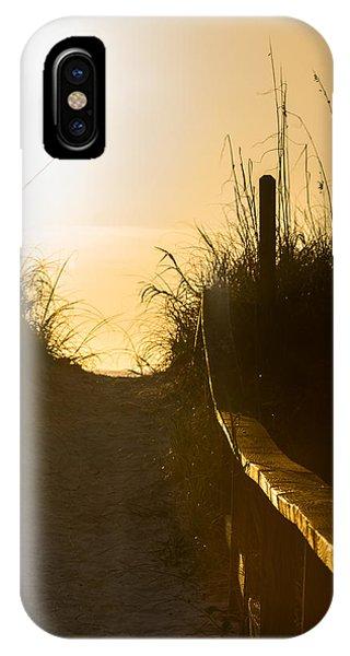 Golden Beach Access IPhone Case