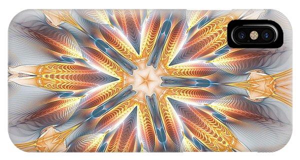 Golden Beach Kaleidoscope IPhone Case