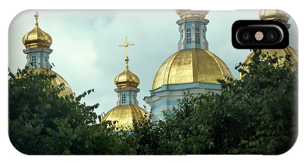 Golden Domes IPhone Case