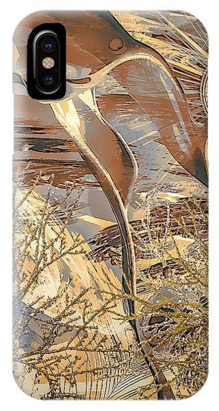 IPhone Case featuring the digital art Golden Dream by Eleni Mac Synodinos