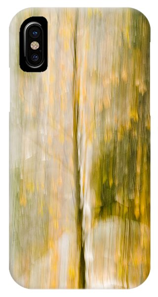 Golden Falls  IPhone Case