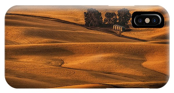 Rural America iPhone Case - Golden Field by Lydia Jacobs