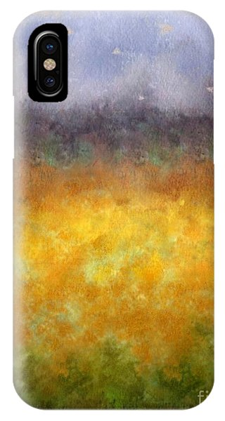 Golden Fields IPhone Case