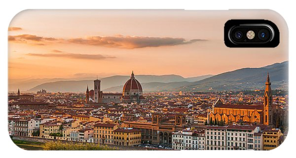 Golden Florence IPhone Case