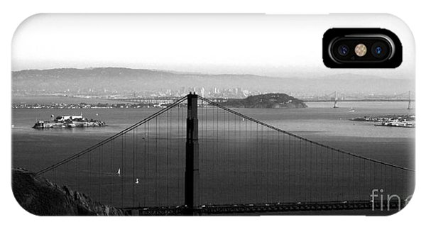 Golden Gate And Bay Bridges IPhone Case