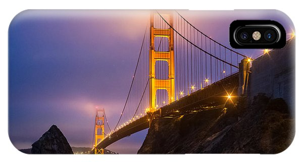 Golden Gate Beauty IPhone Case