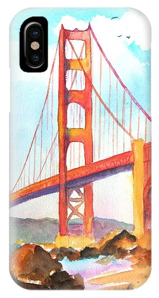 Golden Gate Bridge 3 IPhone Case