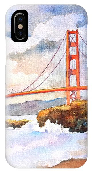 Golden Gate Bridge 4 IPhone Case