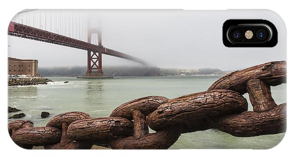 Golden Gate Bridge Chain IPhone Case