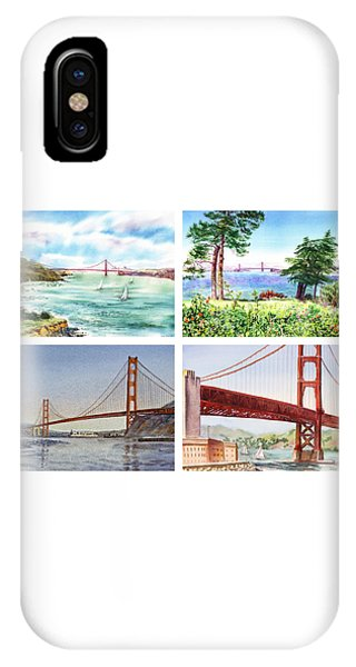 Golden Gate Bridge San Francisco California IPhone Case