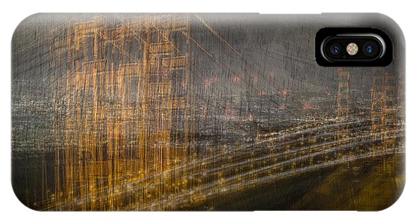 Golden Gate Chaos IPhone Case