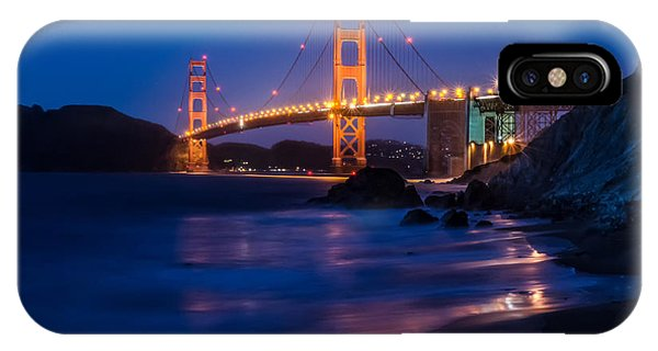 Golden Gate Glow IPhone Case