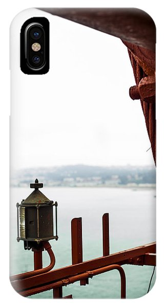 Golden Gate Lantern Phone Case by SFPhotoStore