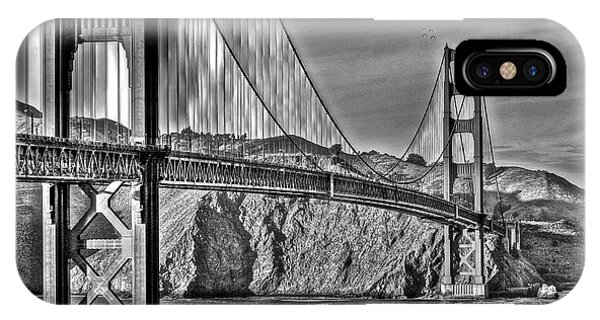 Golden Gate Over The Bay 2 IPhone Case