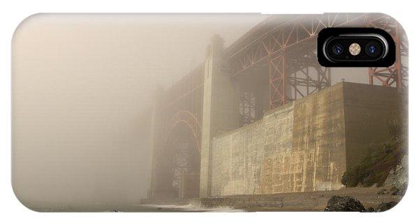 Golden Gate Superfog IPhone Case