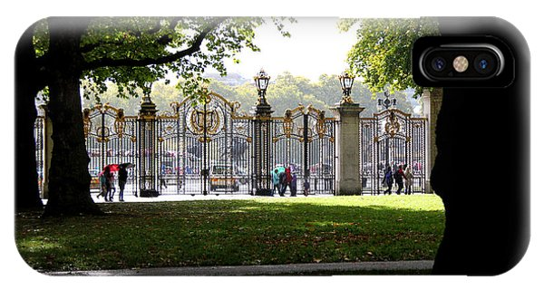 Golden Gates IPhone Case