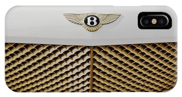 Golden Grill Bentley IPhone Case