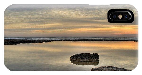 Water Ocean iPhone Case - Golden Horizon by Stelios Kleanthous