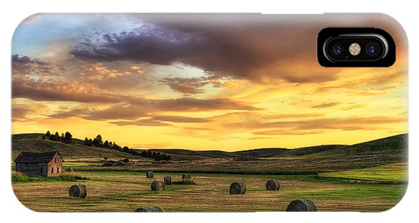 Golden Hour Farm IPhone Case