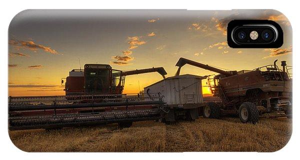 Golden Hour Grain IPhone Case