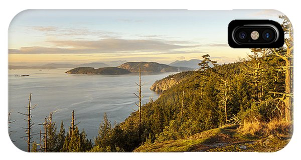Golden Hour On The Salish Sea IPhone Case