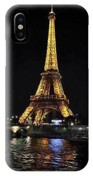 Golden Illumination IPhone Case