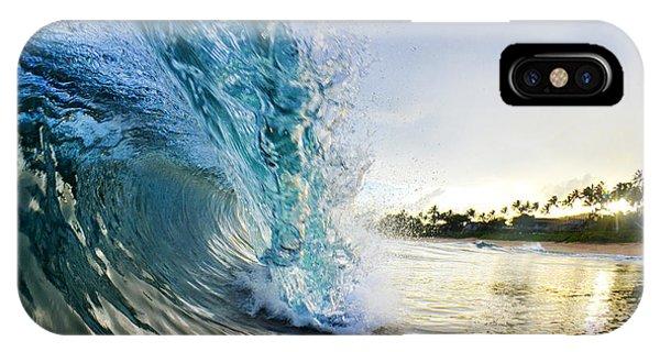 Ocean iPhone Case - Golden Mile by Sean Davey