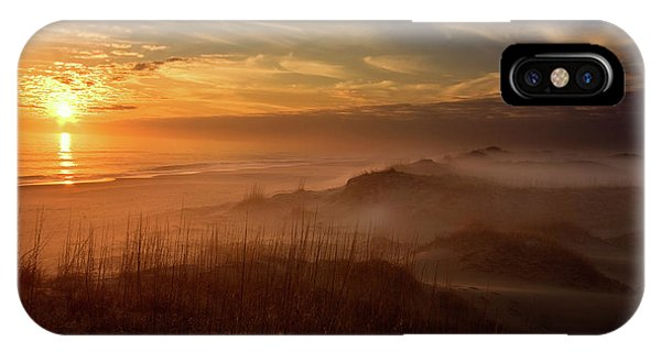 Fog iPhone Case - Golden Moment by Doug Roane