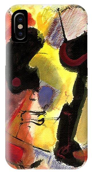 Golden Moon 2 IPhone Case