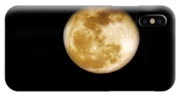 Golden Moon IPhone Case
