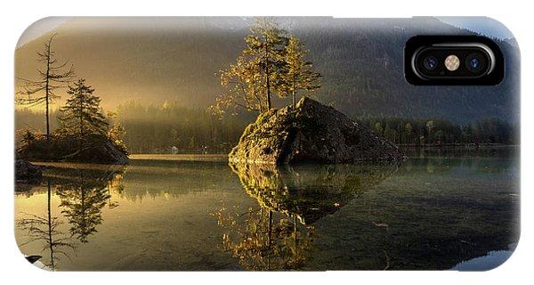 Morning iPhone Case - Golden Morning by Keller