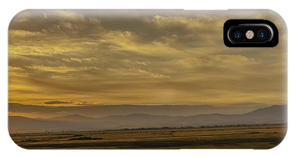 iPhone Case - Golden Morning by Nancy Marie Ricketts