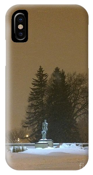 Golden Night IPhone Case