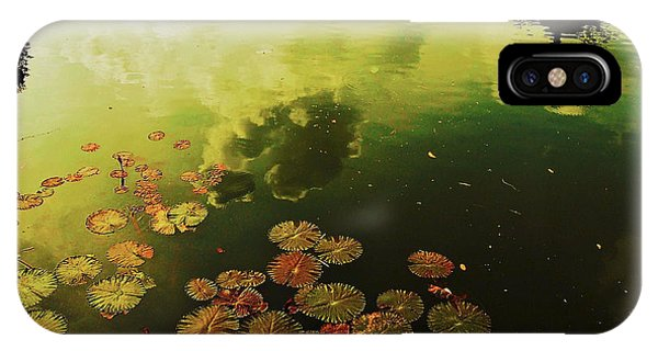 IPhone Case featuring the photograph Golden Pond by Yen