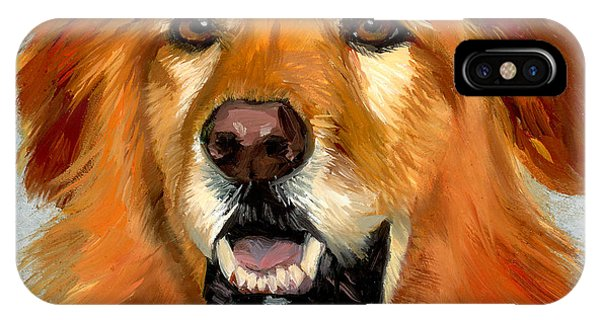 Golden Retriever Dog IPhone Case