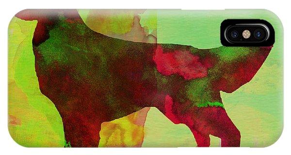 Retriever iPhone Case - Golden Retriever Watercolor by Naxart Studio