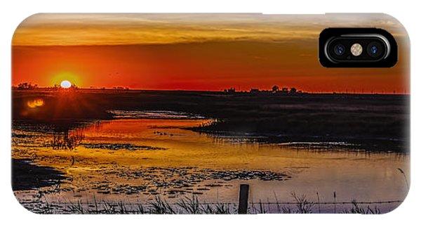 iPhone Case - Golden River by Viktor Birkus