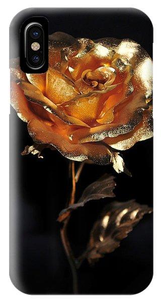 Golden Rose IPhone Case
