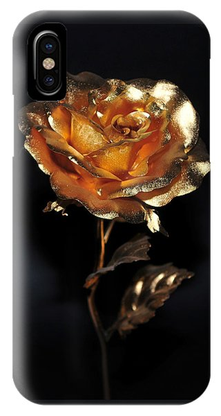 Golden Rose IPhone Case
