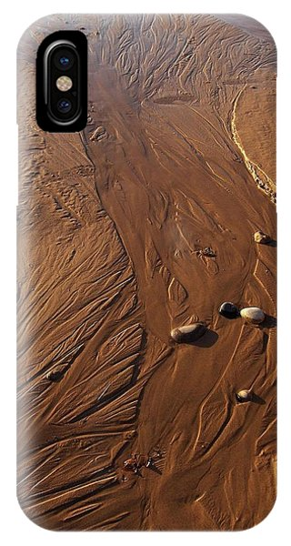 Golden Sand Streams IPhone Case