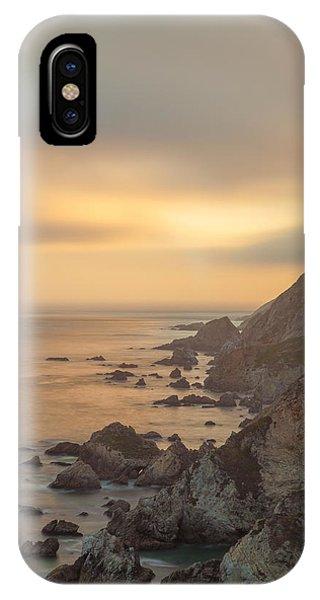 Golden Seashore IPhone Case