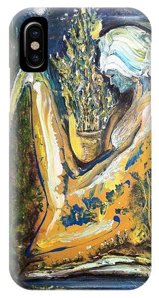 Golden Serenities IPhone Case