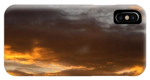 Golden Sky IPhone Case