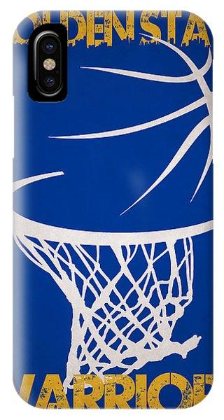Golden State Warriors Hoop IPhone Case